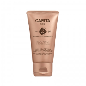 Crème solaire visage hydratante protectrice SPF30   - Progressif Anti-solaire